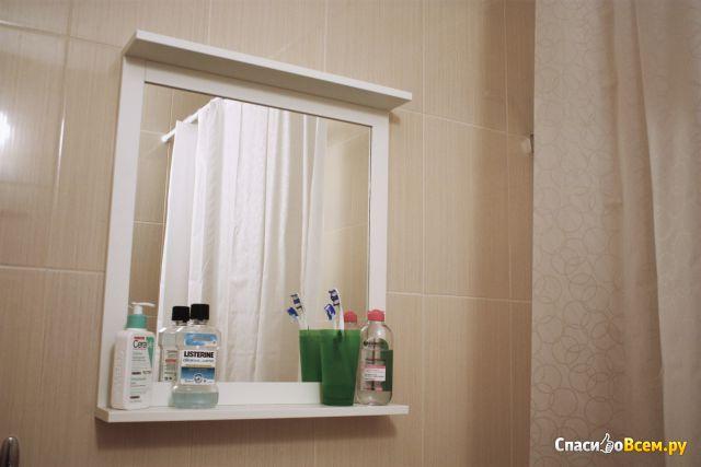 Зеркало с полкой СИЛВЕРОН IKEA фото
