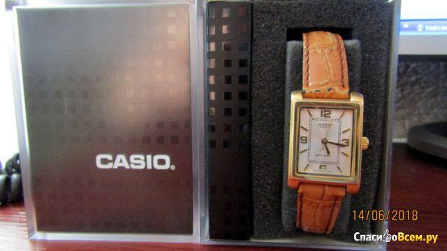 Женские часы Casio LTP-1234GL-7AEF фото