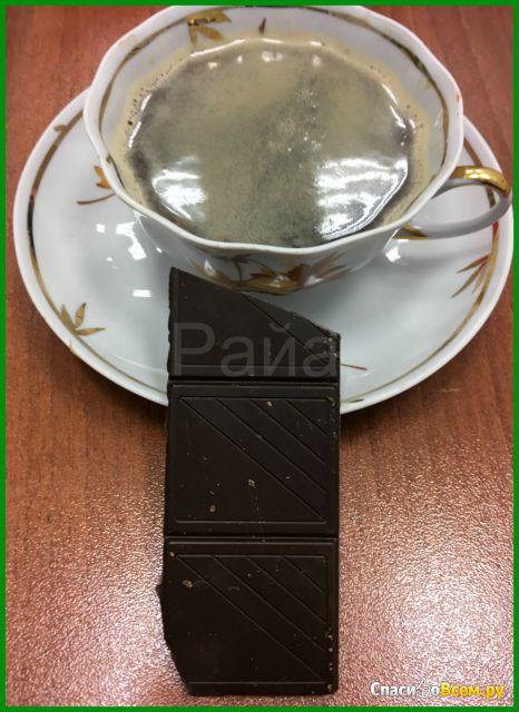"Тёмный шоколад Dolce albero ""Mint"" 55% cocoa фото"