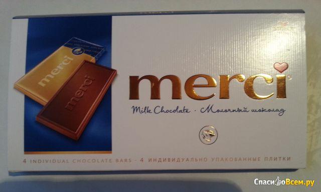 Молочный шоколад Merci фото