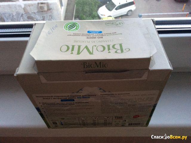 Экологичный стиральный порошок для белого белья BioMio Bio-White фото