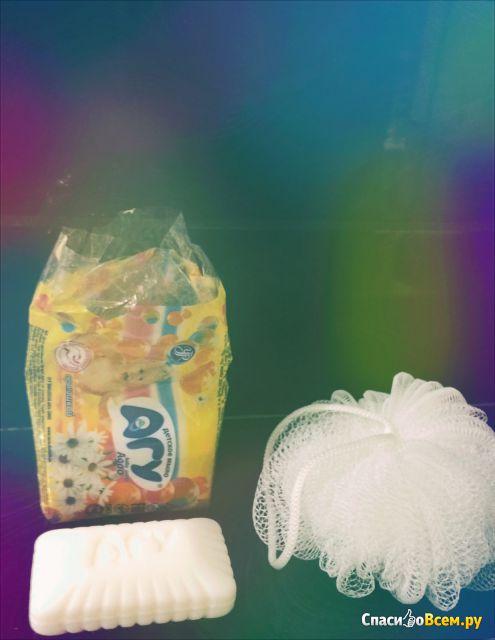 Мыло детское Агу с ромашкой фото