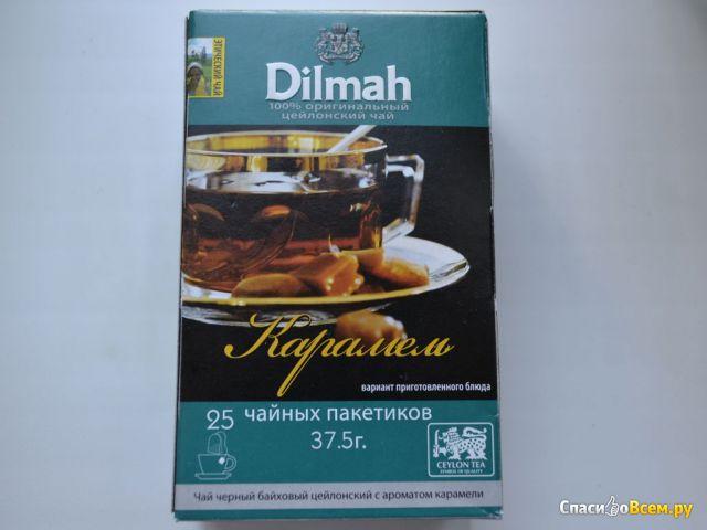 Чай черный байховый цейлонский с ароматом карамели Dilmah фото