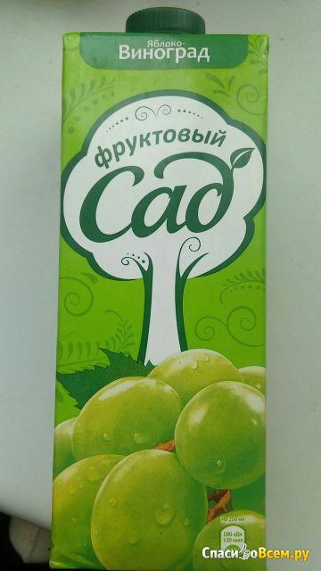 """Нектар яблочно-виноградный """"Фруктовый сад"""" фото"""