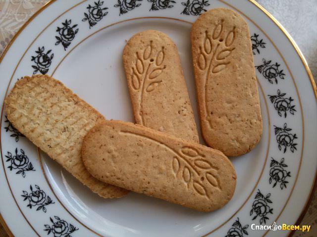 Печенье сдобное мультизлаковое Фитнес на фруктозе «Хлебный спас» фото