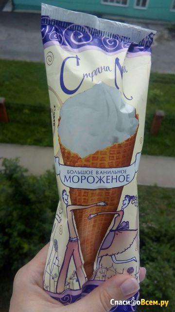 """Мороженое большое ванильное Страна любви """"Вологодское Мороженое"""" фото"""
