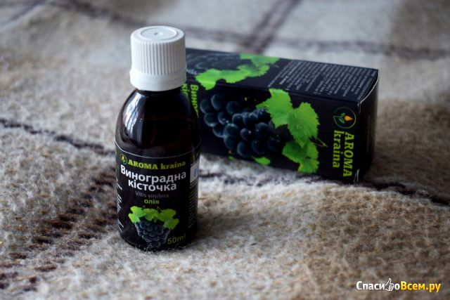 Масло виноградных косточек Aroma kraina фото