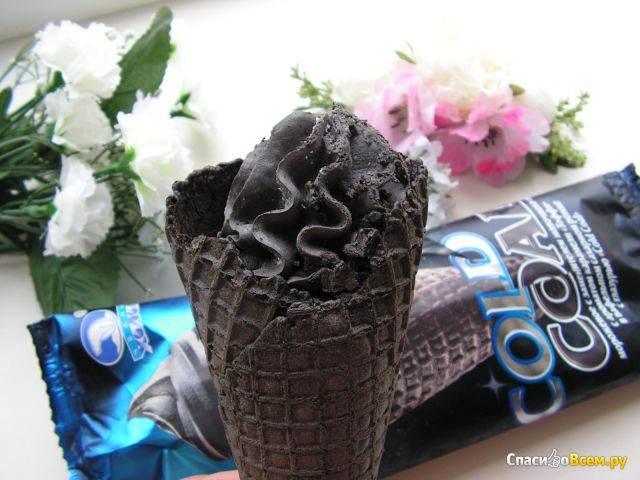 """Мороженое-рожок Челны Холод """"Сold Сoal"""" фото"""