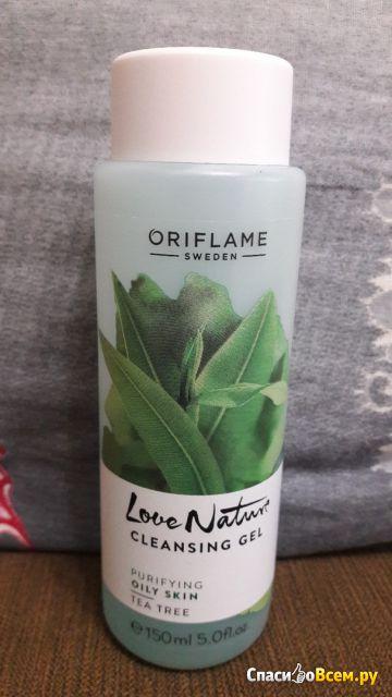 Очищающий гель для лица c маслом чайного дерева Oriflame фото