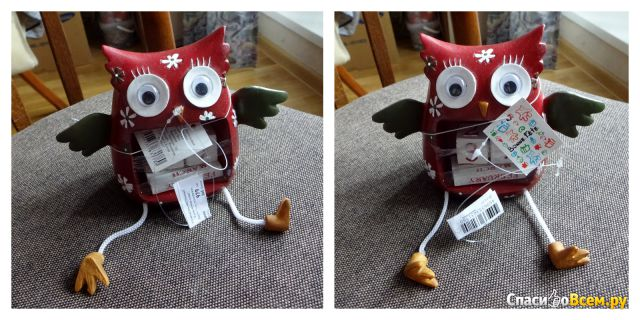 """Календарь настольный """"Удивленная сова"""" Bonne Fete Бон Фет фото"""