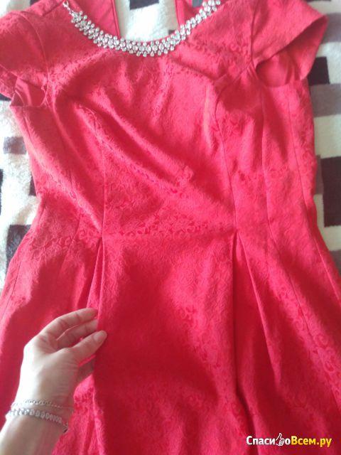 Платье Mohito с бижутерийной аппликацией SI946-33X фото