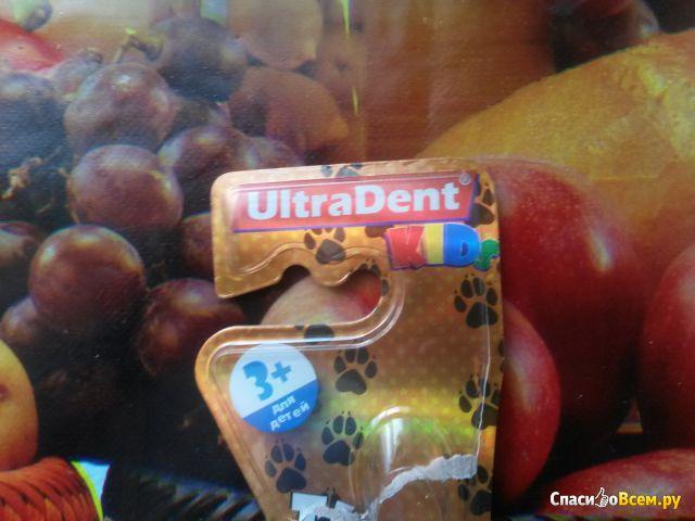 Детская зубная щетка UltraDent Kids фото