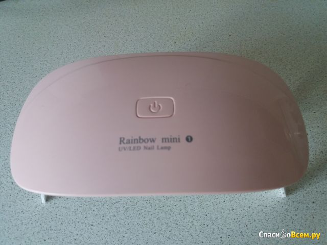 Лампа UV/LED Nail Dryer Rainbow mini 1,6W