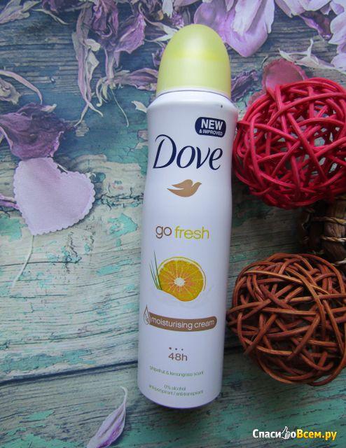 Антиперспирант аэрозоль Dove go fresh, грейпфрут и лемонграсс фото