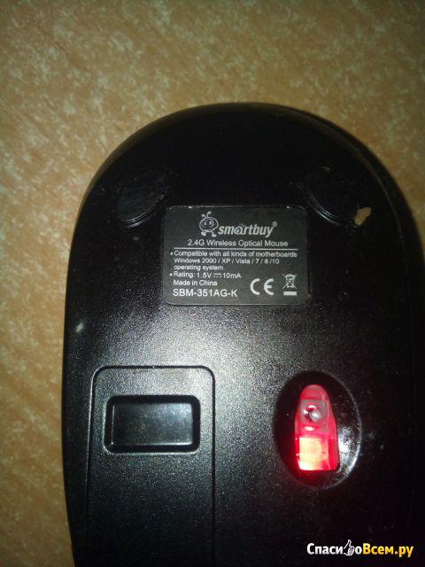 Мышь беспроводная SmartBuy SBM-351AG-K фото