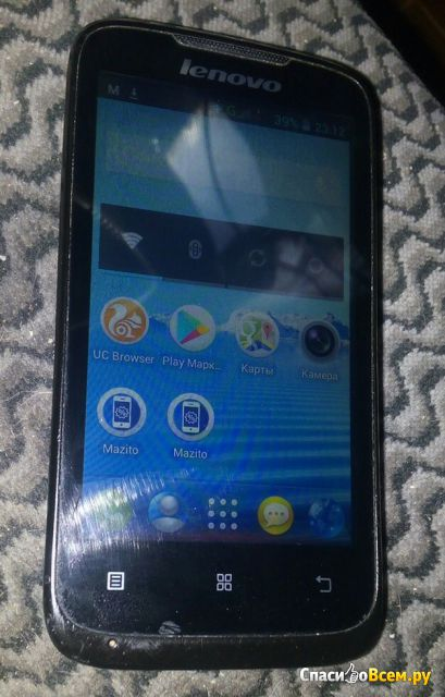 Смартфон Lenovo IdeaPhone A369i фото
