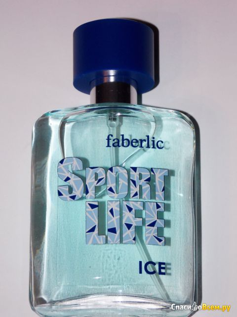 Туалетная вода для мужчин Sportlife Ice Faberlic фото
