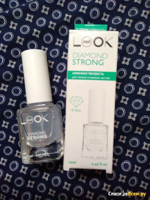 Алмазная твердость для тонких и ломких ногтей Nail Look Diamond Strong фото