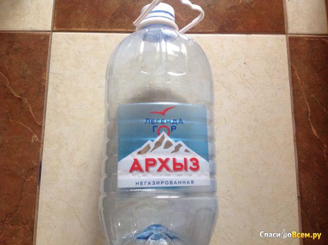 """Минеральная вода """"Архыз"""" фото"""