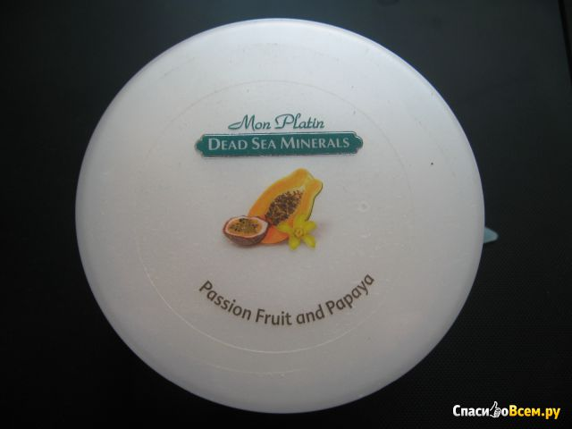 Масло для тела Mon Platin Dead Sea Minerals для предотвращения старения с пассифлорой и папайей фото