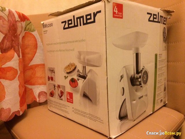 Мясорубка Zelmer MM1200 фото