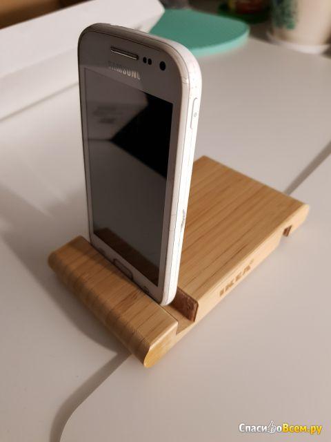 Подставка для смартфона и планшета Бергенес IKEA фото