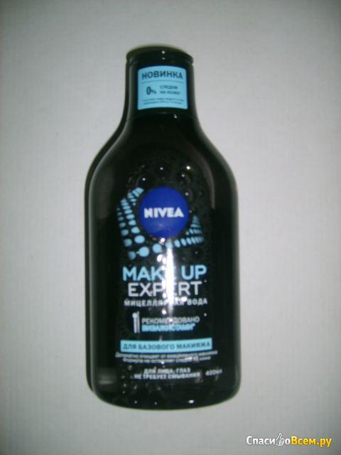 "Мицелярная вода ""Nivea Make up expert"" фото"