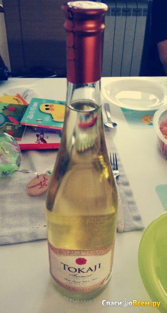 Вино белое полусладкое Tokaji Furmint фото