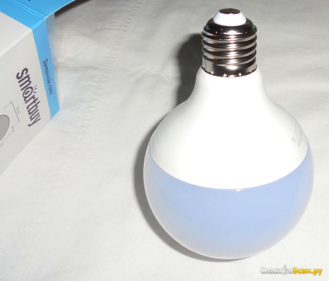 Светодиодная лампа SmartBuy 18Вт E27 G95 фото