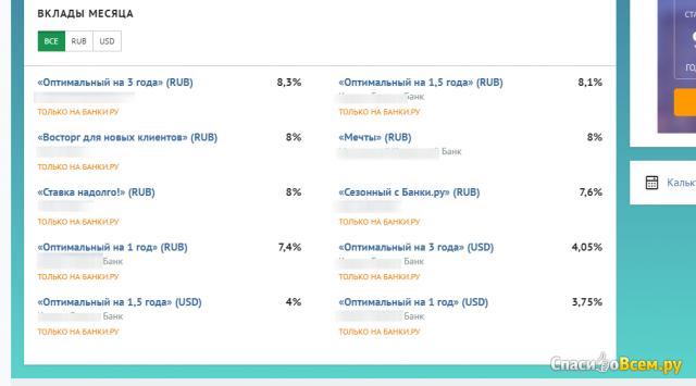 Сайт Банки.ру фото