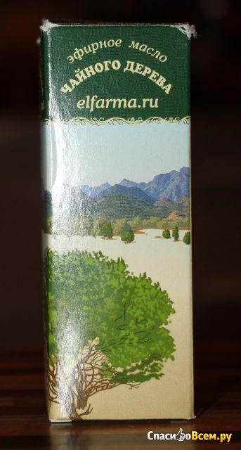 """Эфирное масло чайного дерева """"Эльфарма"""" фото"""