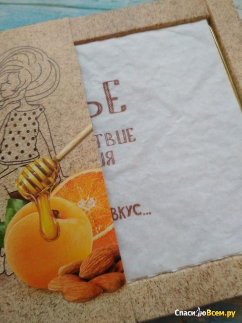 Фруктово-ореховые палочки Берестов. А. С. Galagancha Fruit-sticks с миндалём, курагой и апельсином фото