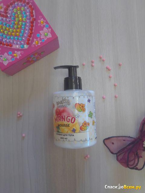 Сливки для тела Tasha & Co Mango Mousse Pretty Sweet с ароматом манго фото