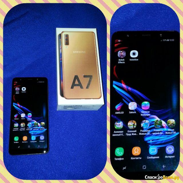 Смартфон Samsung A750 Galaxy A7 (2018) фото