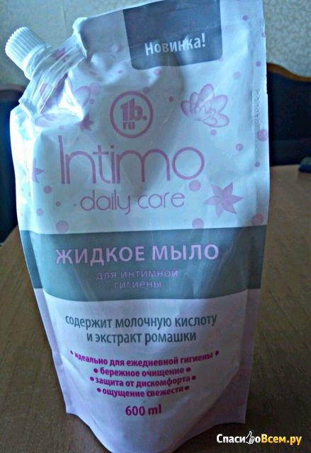 """Жидкое мыло для интимной гигиены """"Intimo daily care"""" 1b.ru фото"""