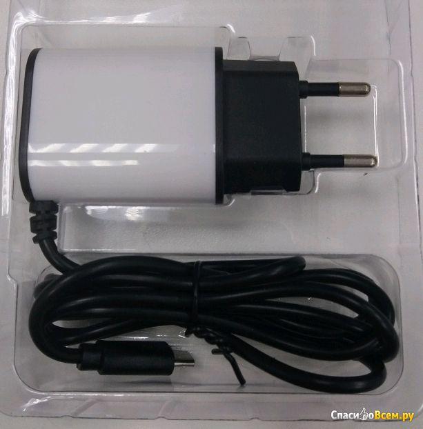 Сетевое зарядное устройство Aksberry micro USB 1A фото