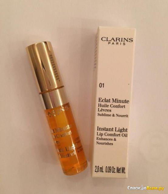 Масло-блеск для губ Clarins Eclat Minute