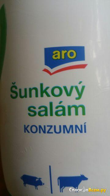 Ветчина салями стандартная Aro фото
