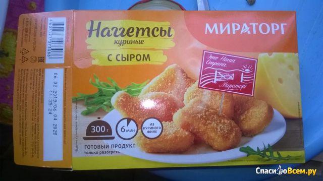 """Наггетсы куриные с сыром """"Мираторг"""" фото"""