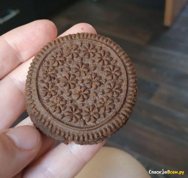 Печенье Forsite сахарное Шоколадно-сливочный вкус фото
