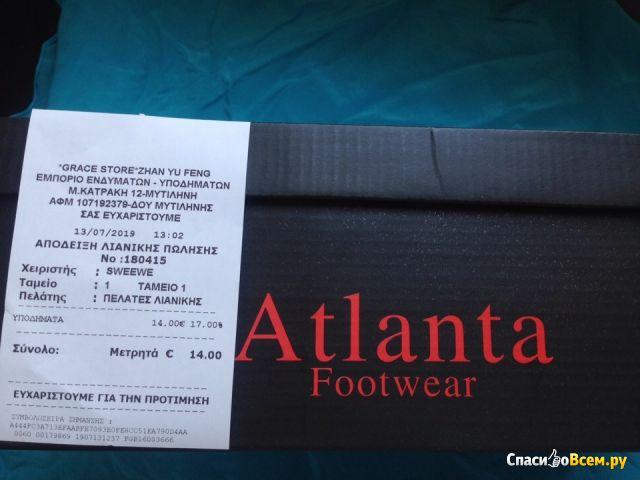 Туфли мужские Atlanta Footwear black арт.993
