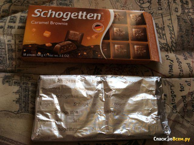 "Шоколад Schogetten ""Caramel Brownie"" фото"