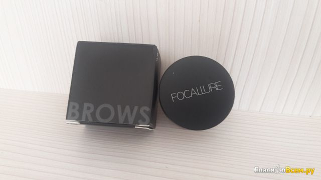 Помада для бровей Focallure Eyebrow Pomade Gel Waterproof фото