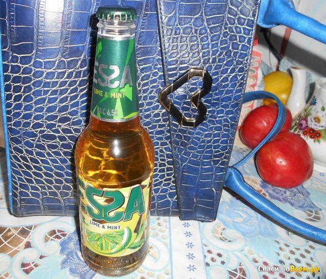 Пивной напиток Essa Lime & Mint фото