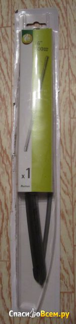 Щетки стеклоочистителя бескаркасные Auchan фото