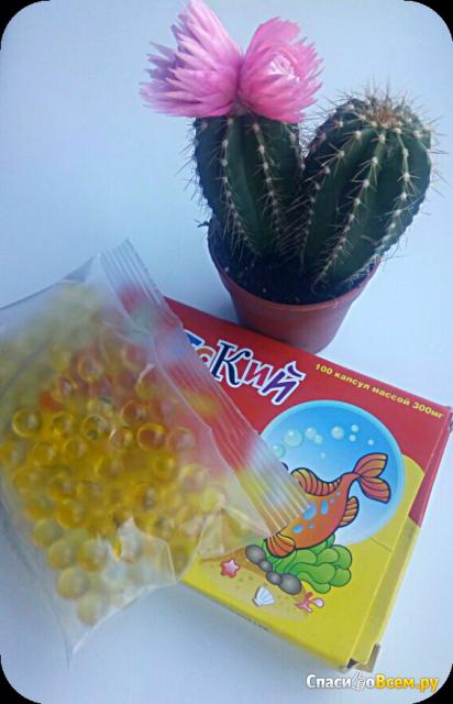 """Капсулы """"Детский рыбий жир Кук Ля Кук с витаминами А, D, Е"""" фото"""