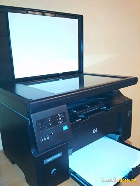 Лазерный принтер HP LaserJet M1132 MFP фото