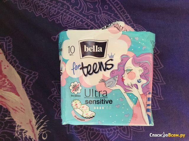 Прокладки Bella For Teens Ultra Sensitive