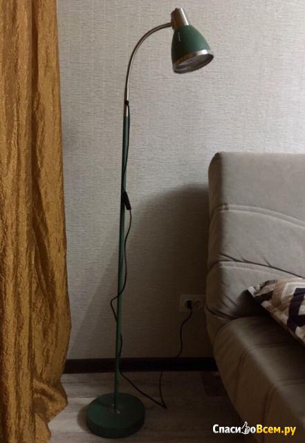 Напольный светильник Artstyle HT-851 GRN Зелёный + никель фото