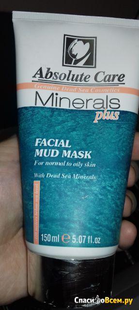 Маска грязевая для лица Absolute Care Minerals plus фото